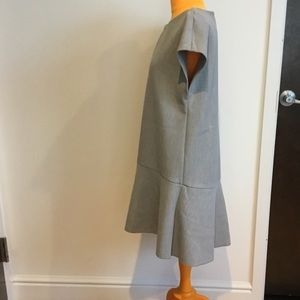 Zara Trafaluc Collection grey dress sz M nwot